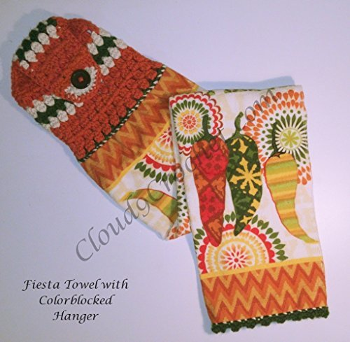 Fiesta Contemporary Hanging Towel. A thoughtful, handmade gift that truly express your apprecation for a wonderful teacher.
