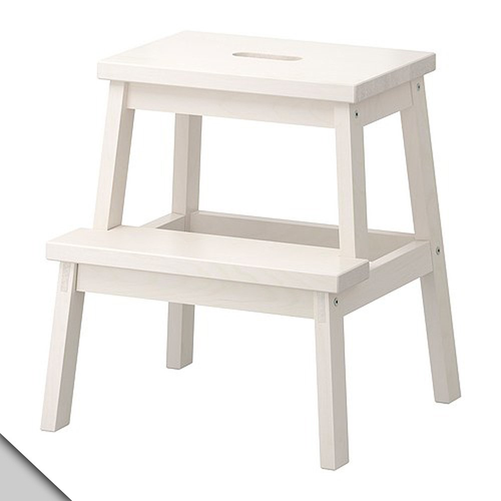 Amazon.com: IKEA - BEKVÄM Step stool, white: Home Improvement