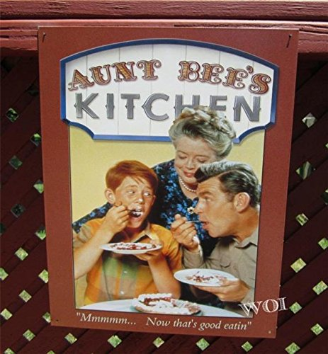 Aunt Bee Opie Taylor Andy Show Classic Kitchen Hanging Picture Sign Tin ()