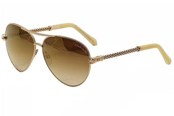 563efe30f Amazon.com: Roberto Cavalli Sunglasses RC 976S Syrma 28G Rose Gold ...