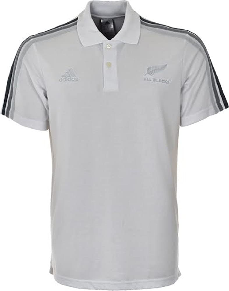 adidas – Polos – Polo All Blacks, blanco, large: Amazon.es ...
