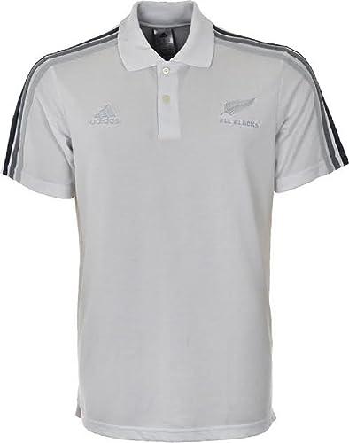 Adidas – Poloshirts – Polo All Blacks weiß S: