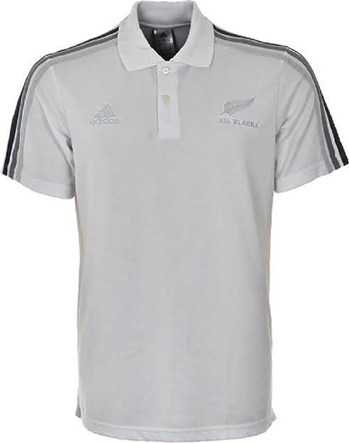 adidas – Polos – Polo All Blacks, blanco, large: Amazon.es ...