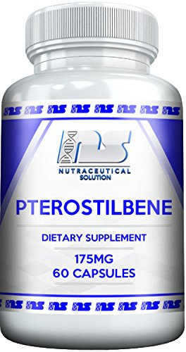 PTEROSTILBENE by Nutraceutical Solution - Potent Antioxident , Supports Healthy Cellular Function