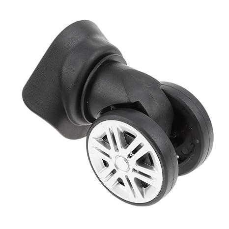 sharplace 60 mm Maletas Equipaje A60 – 1 ruedas repuesto para bolsa de viaje trolley