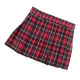Dovewill Fashion Scottish Style Plaid Pleated Mini Skirt Dress for 1/6 BJD SD LUTS Dollfie Dolls