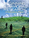 img - for Beginning Behavioral Research: A Conceptual Primer (6th Edition) book / textbook / text book