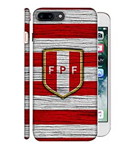 ColorKing Football Peru 10 Multicolor shell case cover for Apple iphone 7 Plus