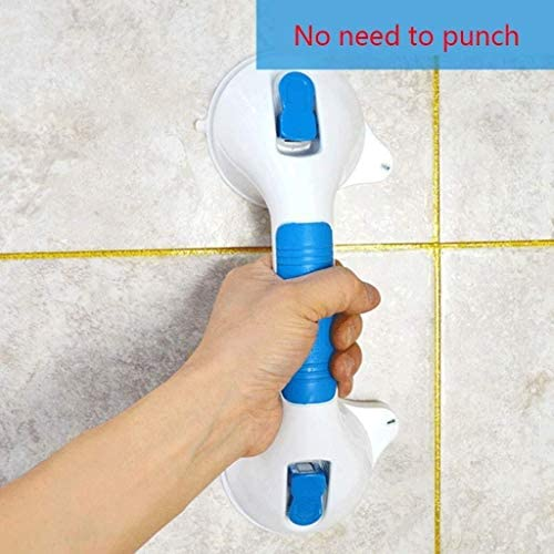 HJXSXHZ366 Ältere Patienten Hilfshandlauf Handlauf Strom Sucker Sicherheit Arm Kinder Alt Anti-Rutsch-Griff Bad Badewanne Glas Griff Treppen Punch, Größe 41.5 * 9.5 * 24 cm