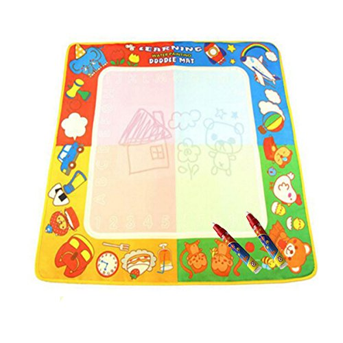 Coolplay¨ Water Painting Drawing Mat Board with 2 Magic Pens,72X69cm