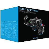 Flight Yoke System with Throttle Quadrant PC