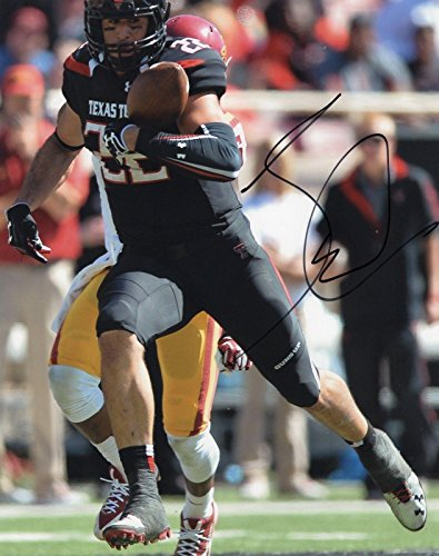 Signed Jace Amaro Photograph - 8x10 w COA Texas Tech Red Raiders  3 -  Autographed NFL Photos at Amazon s Sports Collectibles Store 131396262