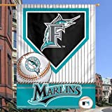Florida Marlins Vertical Decorative MLB House Flag