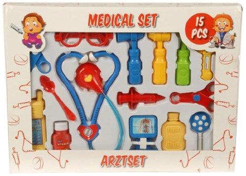 Eddy Toys–35390–Spiel 701812613150Panoplie Medizinische x15