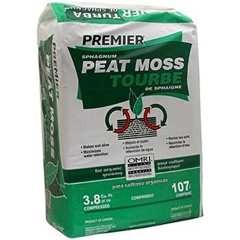 3.8CUFT Sphag Peat Moss