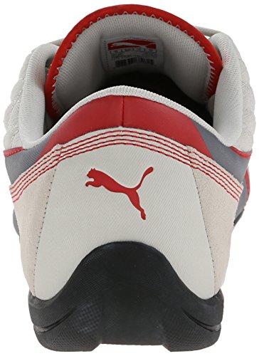 Puma Mens Dérive Chat 6 Lace-up Mode Sneaker Vaporeux Gris / Acier Gris