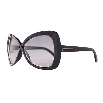 d4bcba1665 Amazon.com  Tom Ford Designer FT0277 01B Black Jade Women Sunglasses  Shoes