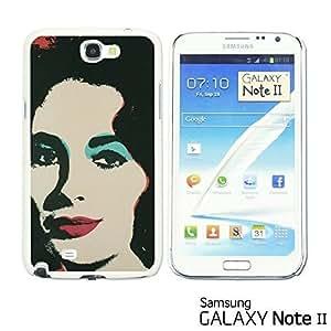 OnlineBestDigital? - Celebrity Star Hard Back Case for Samsung Galaxy Note 2 - Andy Liz