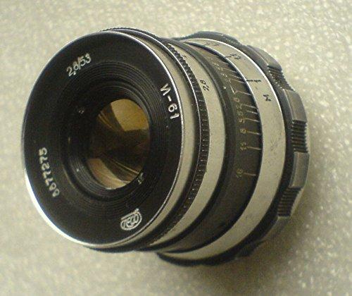 INDUSTAR 61 ZEBRA 2 8 / 53 mmライカソ連ソ連ロシアRF DSLR SLRフィルムデジタルカメラレンズネジM39