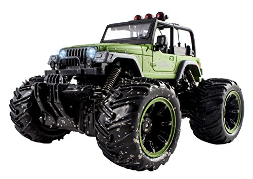 Remote Control Wrangler Monster Off Road