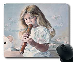 """Rectangle Mouse Pad Beautiful Music Durable Rubber Customized Mousepad 220mm*180mm*3mm (9""""*7"""") -WS82039"""