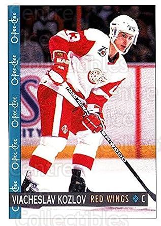 Amazoncom Ci Vyacheslav Kozlov Hockey Card 1992 93 O Pee Chee