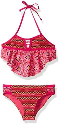 Limited Too Girls' Print Mixing W/Texture Fabric 2pc