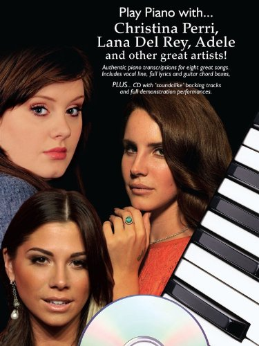 Play Piano With. Christina Perri, Lana Del Ray, Adele And Other Great Artists
