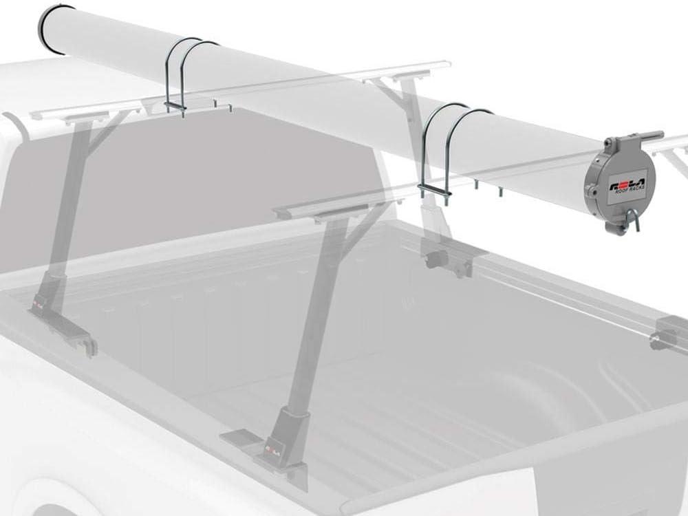 Rola Truck Bed Roof Rack 6 Conduit End Cap Carrier Rack Holder Kit 2 Pack
