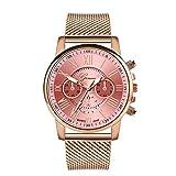 XioNiu Wrist Watch, 1 Pc Women Fashion Quartz Watch Casual Metal Gift Wrist Watch (8 Colors) Wrist Watches