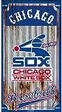 Team Sports America Chicago White Sox Corrugated Metal Wall Art