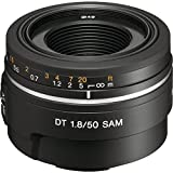 Sony 50mm f/1.8 SAM DT Lens for Sony Alpha Digital SLR Cameras - Fixed