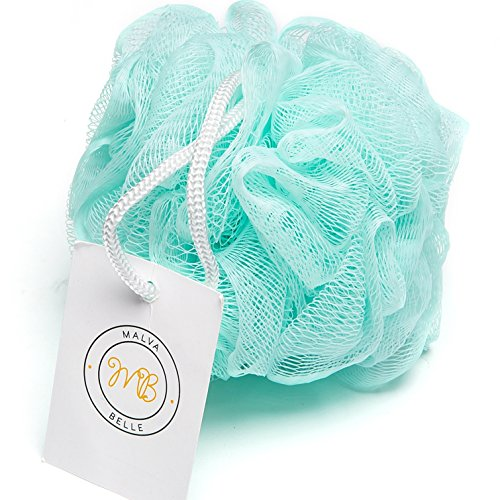 Superieur Amazon.com : Luxury Bath Pouf   Shower And Bathing Sponge Mesh Puff Luffa |  Loofah | Louffa With Gentle Body Exfoliating Scrubber Power | For Men And  Women ...