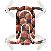 Skin For ZEROTECH Dobby Pocket Drone – Basketball | MightySkins Protective, Durable, and Unique Vinyl Decal wrap cover | Easy To Apply, Remove, and Change Styles | Made in the USA