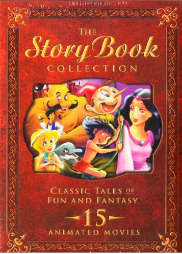 The Ultimate Storybook Collection DVD Set : The Little Mermaid , Pocahontas , Cinderella , Snow White , the Little Princess , Black Beauty , the Call of the Wild , Hercules , Beauty and the Beast , Thumbelina , Jungle Book , Leo the Lion , Pinocchio , White Fang , Aladdin : 15 Animated Feature Length Movies