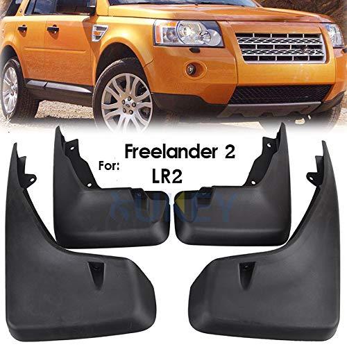Juego de 4 Protectores de Salpicaduras para Land Rover Freelander 2//LR2 08ON XUKEY