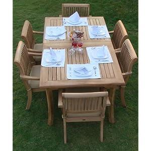 51GygclgHjL._SS300_ Teak Dining Tables & Teak Dining Sets