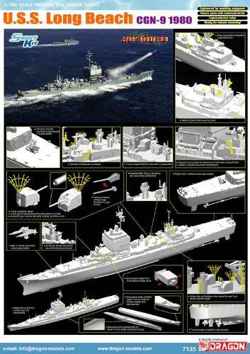 Maqueta de Barco Escala 1:700 Dragon