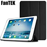 FanTEK PU Leather Hard Shell Magnetic Multi-Angle Stand Case for Apple iPad Pro 12.9-Inch - Black