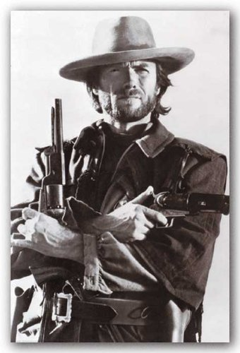 Clint Eastwood Poster 24 X 36In