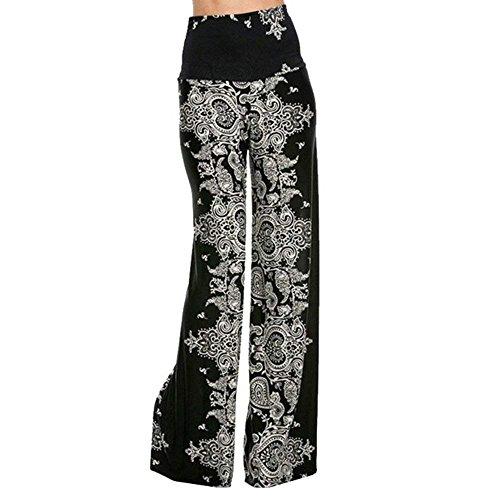 Longs Vêtements Femmes Plus Taille Noir Pour Saoye Élégant Pantalon Temps Blanc Libre Large Et Automne Printemps Mode Filles nW68B