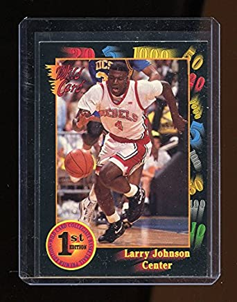 1991 Classic Draft Picks 44 Larry Johnson UNLV Rebels Rookie Card