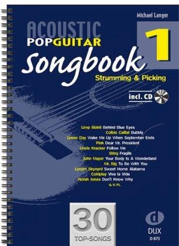 Acoustic Pop Guitar Songbook banda 1, incluye CD - 30 topsongs ...