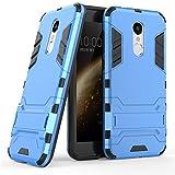 Qiku 360 N5 Case,360 N5 Cover,Find box [Slim] Dual Layer Hybrid Rugged Hard PC and TPU Soft Silicone Full Body Protective Case Shell kickstand Case Cover For Qiku 360 N5 (Blue)