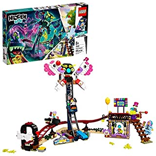 LEGO Hidden Side Haunted Fairground 70432 Popular Ghost-Hunting Toy, Cool Augmented Reality LEGO Set for Kids, New 2020 (466 Pieces)