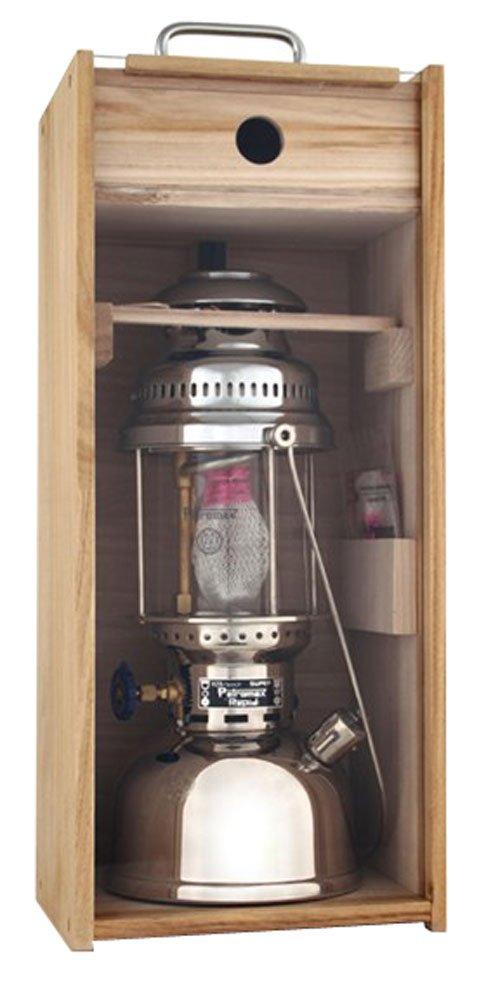 7位.ペトロマックス 灯油ランタン 木製ケース