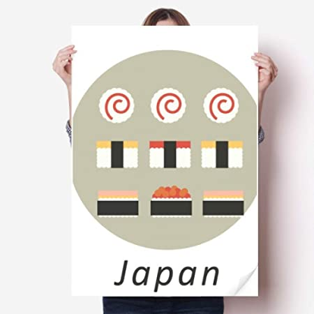 DIYthinker 80X55Cm Pared Tradicional Japonesa Sushi Local ...