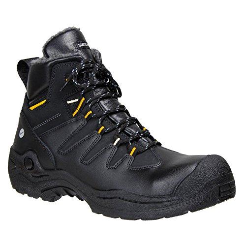 Ejendals 6438–47taglia 47JALAS 6438Tempera Stivali di sicurezza, colore: nero/giallo