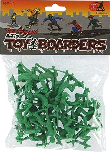 AJ's Toy Boarders 24pc Skateboard Figures