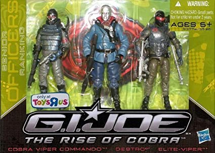 Amazon.com: G.I. Joe The Rise of Cobra Exclusive Action ...